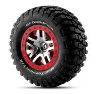 "Traxxas 6873A BF Goodrich 2.2""/2.8"" on wheels"