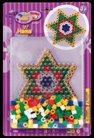 Hama 8925 maxi stjärna 250 pärlor