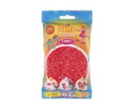 Hama 207-35 midi pärlor 1000st neon röd