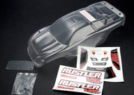 Traxxas 3714 Body, Rustler (clear, requires painting)
