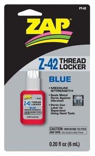 ZAP Z-42 Skruvlås 6ml blå