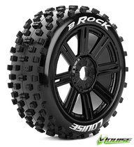 Louise L-T3270B Tire & Wheel B-ROCK 1/8 Buggy Sport (2)