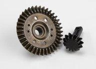 Traxxas 5379X Ring gear, differential/ pinion gear