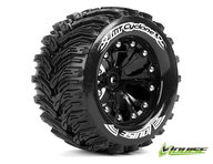 Louise L-T3226BH Tires and Wheels MT-Cyclone Black 1/2 offset (2)