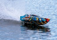 Traxxas Spartan Brushless Muscleboat