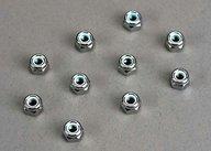 Traxxas 1747 Nuts, 4mm nylon locking (10)