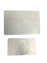 Hama 4455 midi bokstäver och siffror platta