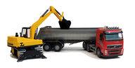 Emek 60020 grusbil och grävmaskin