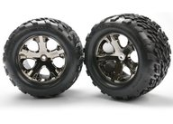 "Traxxas 3668A Talon Tires 2.8"" on wheels TSM"