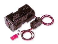 Futaba FP1336 Batterihållare med strömbrytare (4xAA)