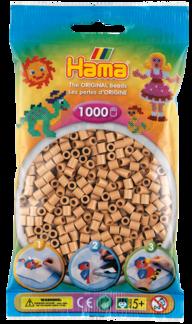 Hama 207-75 midi pärlor 1000st gulbrun