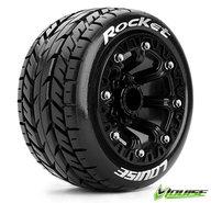 "Louise L-T3188SB Tires & Wheels ST-ROCKET 2,2"" black Soft (2)"