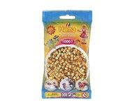 Hama 207-61 midi pärlor 1000st Guld /08