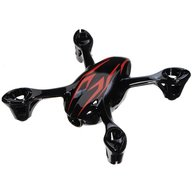 Hubsan H107-A26 Body shell -Black/red for H107C camera version