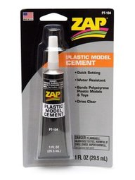 ZAP PT-104 Plastic Model Cement