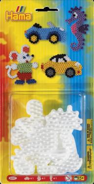 Hama 4557 Liten bil, liten mus och liten häst