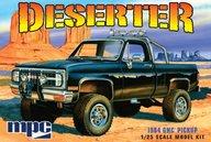 MPC Deserter 1984 GMC Pickup (Black) 1/25