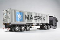 Tamiya 56326 1/14 40FT Maersk container M.Semi trailer