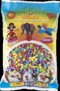 Hama 201-50  3000st 6 färger