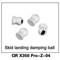 Walkera PRO-Z-04 QR X350 Pro Skid landing damping ball