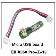 Walkera PRO-Z-13 QR X350 PRO Micro USB board