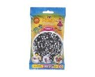 Hama 207-62 midi pärlor 1000st silver