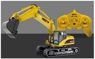 Huina 15 channel Excavator with metal shovel