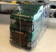 Emek 47900E Scania stockbil Svart-Grön