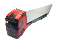 Emek 81135 Volvo FH Containerbil röd