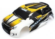 Traxxas 7512 Body, LaTrax 1/18 Rally, yellow (painted)/ decals