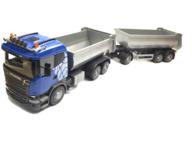 Emek 89226 Scania grusbil med släp