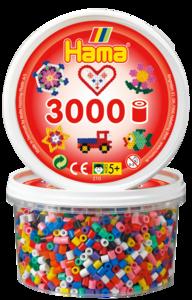 Hama 210-00  3000st 10  färger