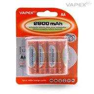 Vapex 4XAA 2900mAh 1,2V