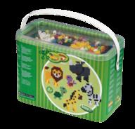 Hama 8804 Maxi 3000 pärlor i bärbox, vilda djur