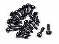 HPI 114288 BUTTON HEAD SCREW M1.7X6MM (20PCS)