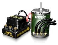 Castle SIDEWINDER 4 12.6V ESC WP Combo 1406-4600KV Sensor Motor
