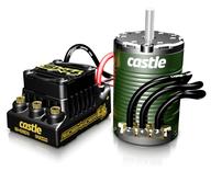 Castle SIDEWINDER 4 12.6V ESC WP Combo 1410-3800KV Sens Motor 5mm