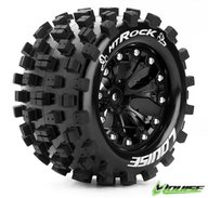 "Louise L-T3275BH Tire & Wheel MT-ROCK 2,8"" Black 1/2-offset (2)"