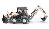 Siku 3531 1:50 Traktor med frontlastare och grävskopa
