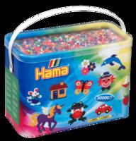 Hama 208-68 midi pärlor 30000st mix-68
