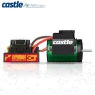 Castle Sidewinder SCT 1/10 3800kv Waterproof Combo