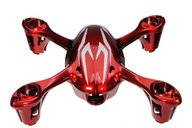 Hubsan H107-A21 Body shell - red/silver for H107C camera vers.