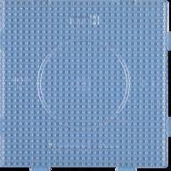 Hama midi 234TR fyrkant transparent