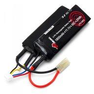 Vapex LP0189BS Battery 11,1V 1800mAh 30C Li-Po Split Airsoft