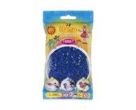 Hama 207-08 midi pärlor 1000st blå