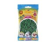 Hama 207-10 midi pärlor 1000st Grön