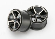Traxxas 7172A Wheels, Gemini (black chrome) (2)