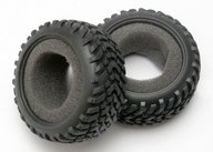 Traxxas 7071 Tires, off-road racing, SCT dual profile (1 each, right & left)/ foam inserts (2)