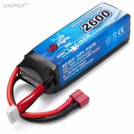 Vapex LP026FD Battery 14,8V 2600mAh 30C