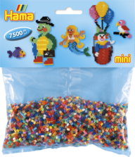 Hama mini 583 7500st blandade färger